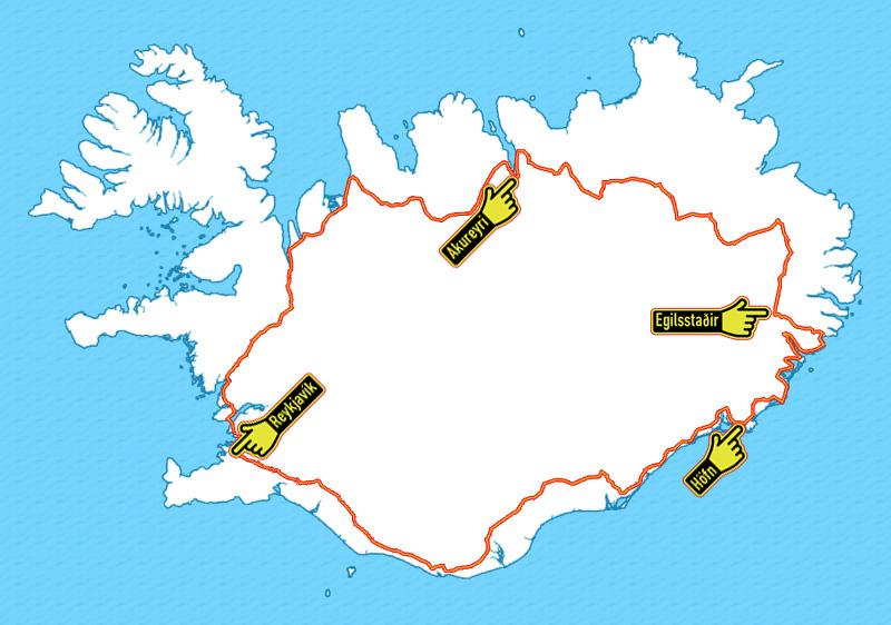 Symbolen Plattegrond Keuken : IJsland ? Algemene informatie over de republiek IJsland